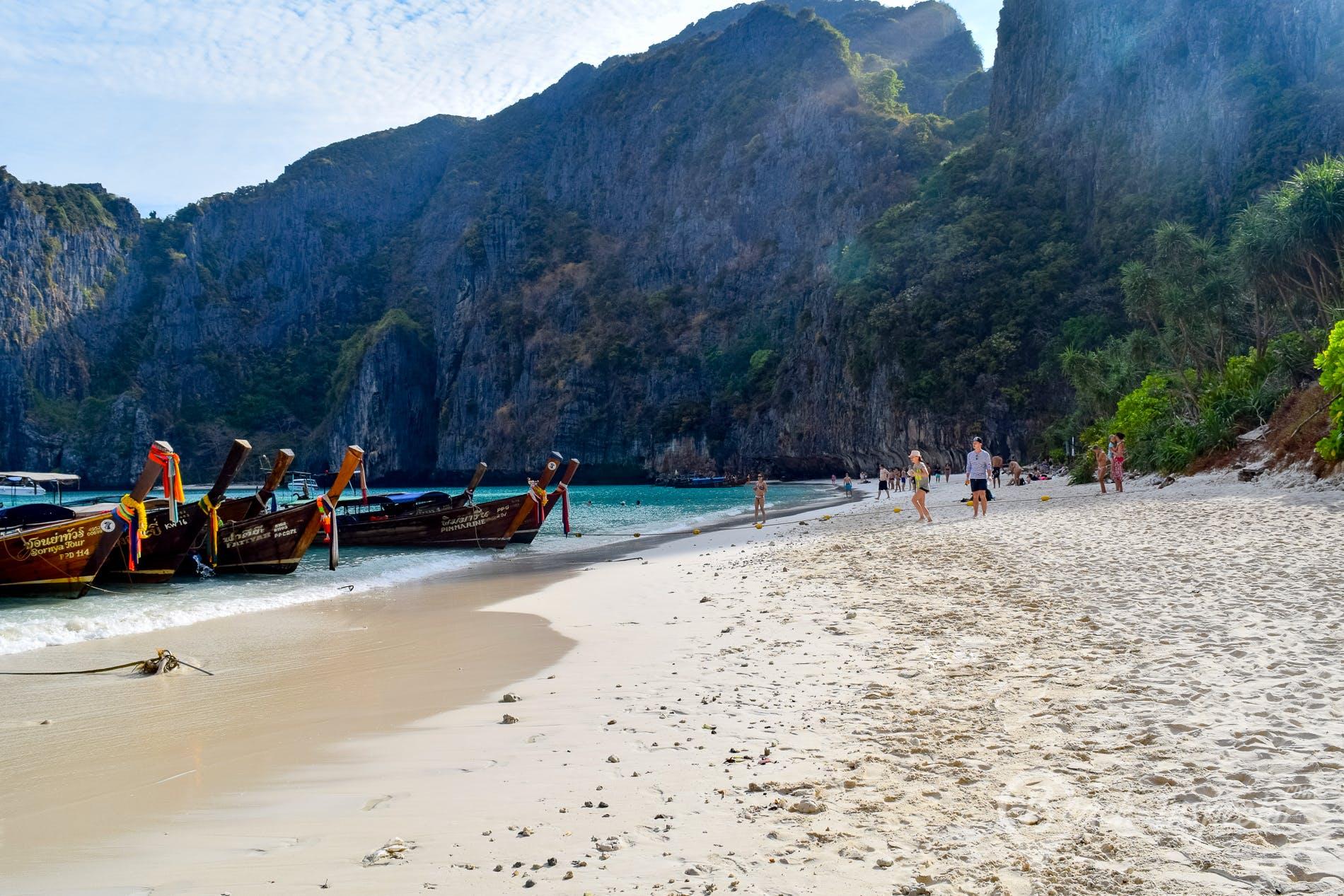 Playa Maya Bay, Koh Phi Phi, Tailandia