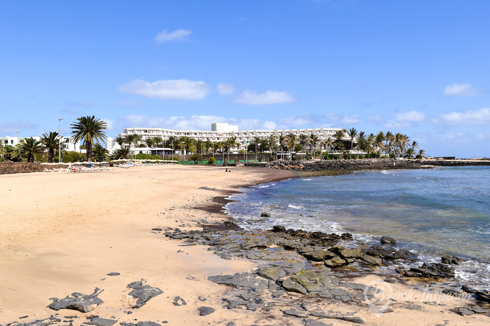 Playa Playa de las Cucharas, Lanzarote, España