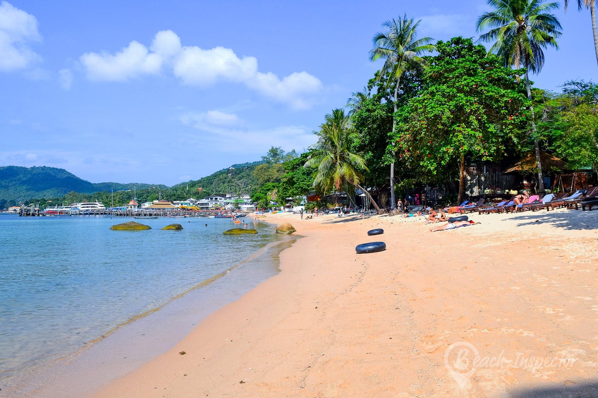 Playa Mae Haad Beach, Koh Tao, Tailandia