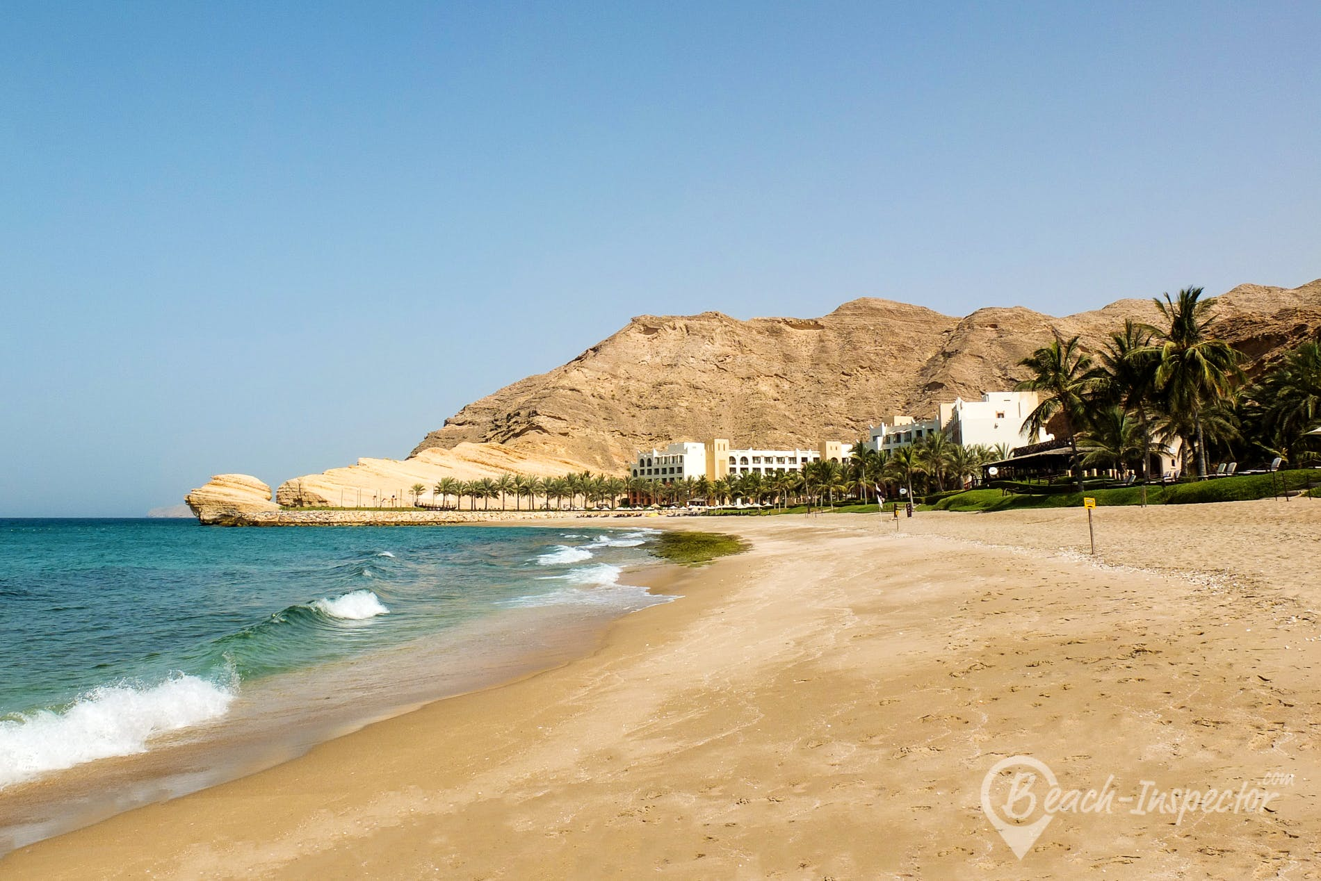 Beach Al Jissah Beach, Oman, Oman