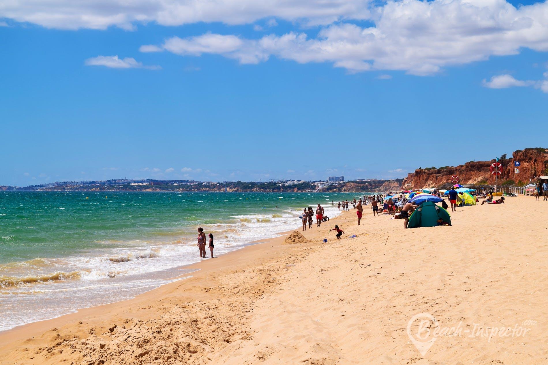 Beach Praia da Falésia Alfamar, Algarve, Portugal