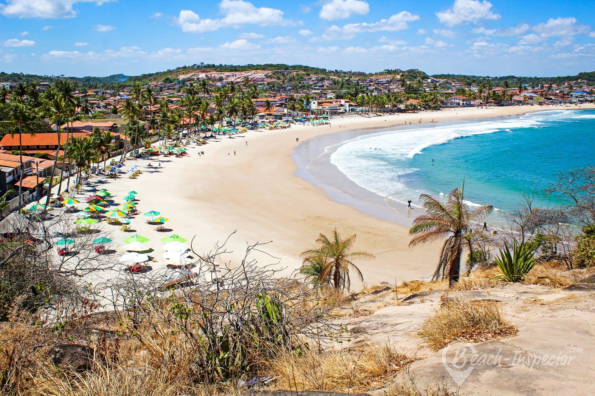 Beach Praia de Gaibú, Pernambuco, Brazil