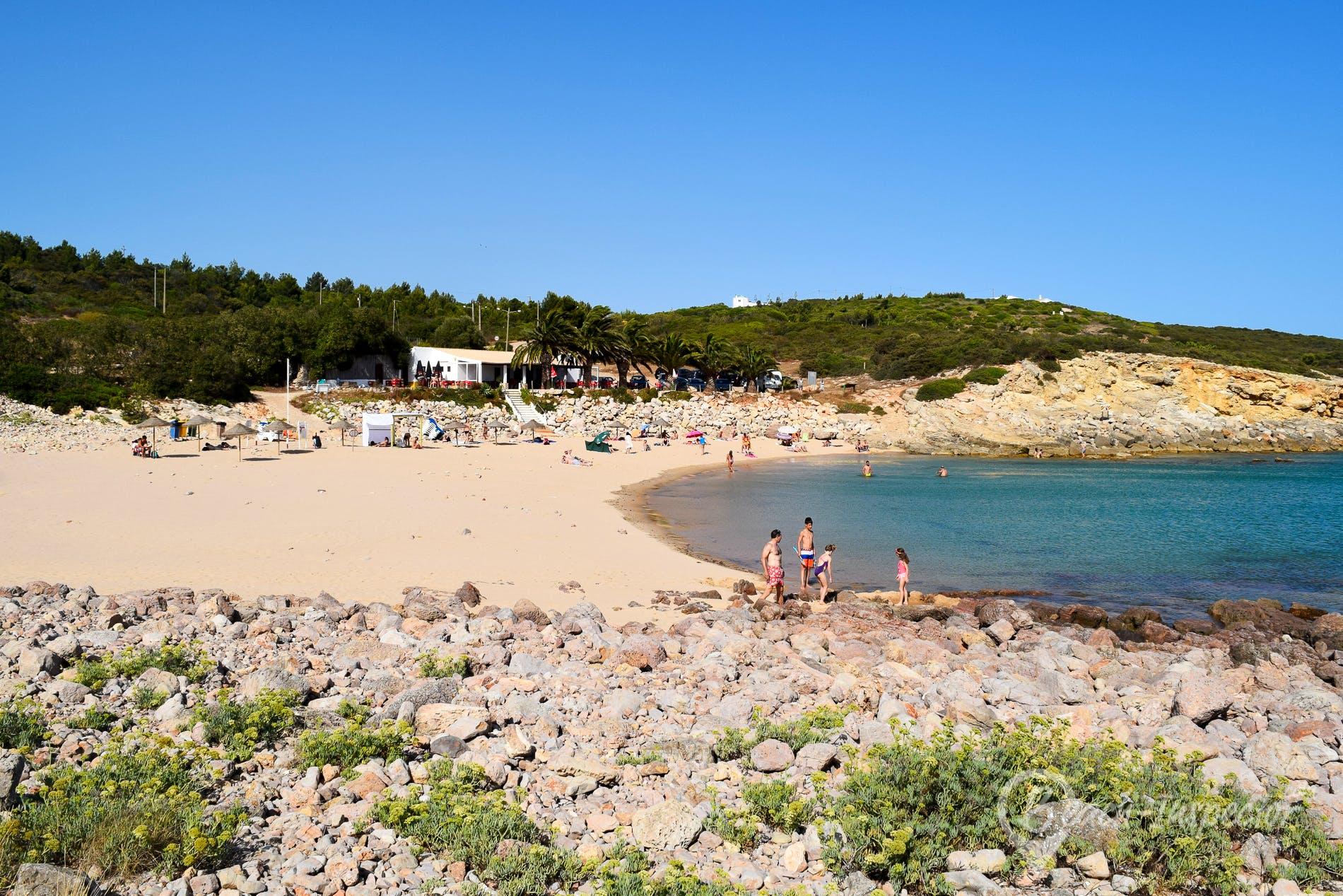 Strand Praia da Ingrina, Algarve, Portugal