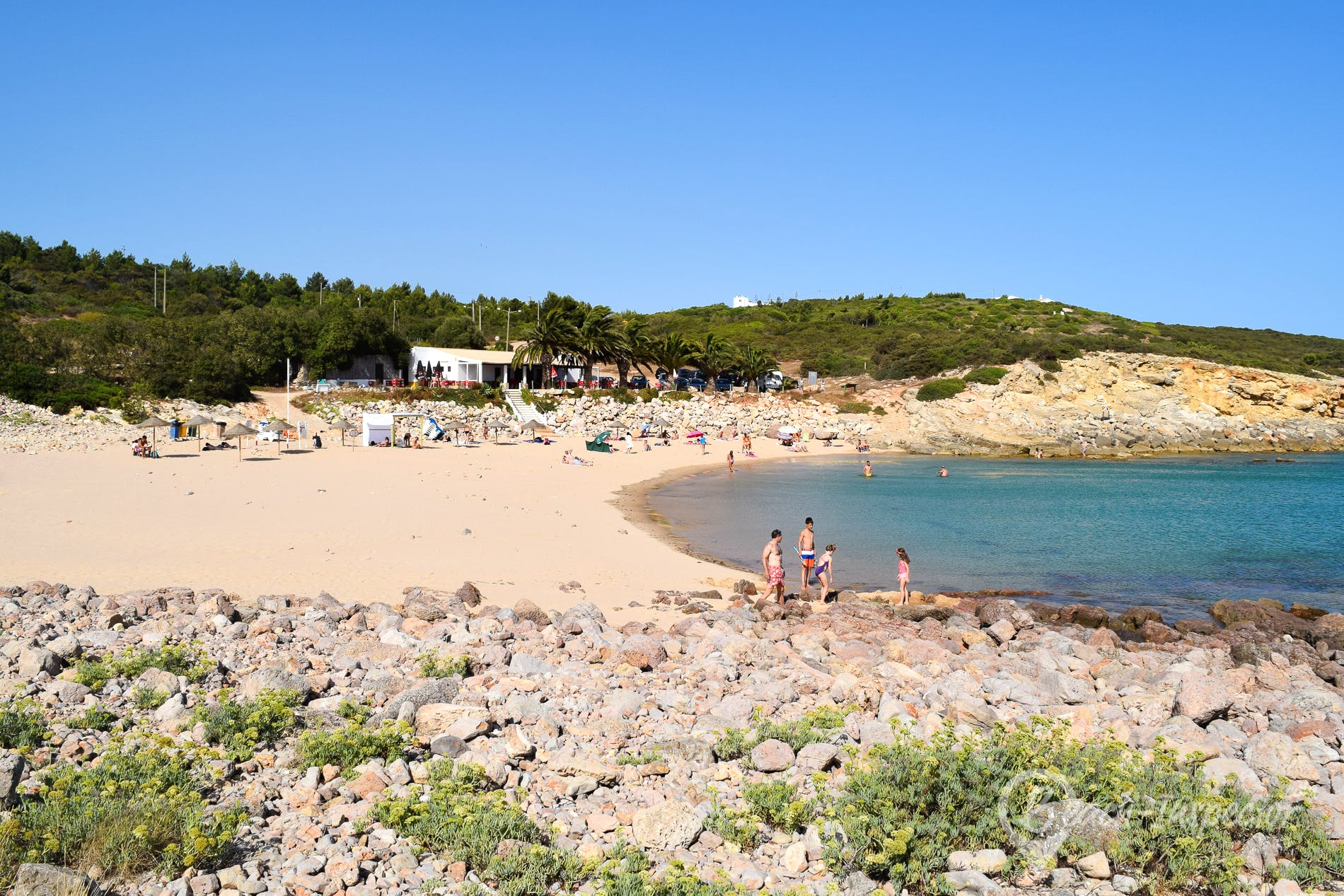 Beach Praia da Ingrina, Algarve, Portugal