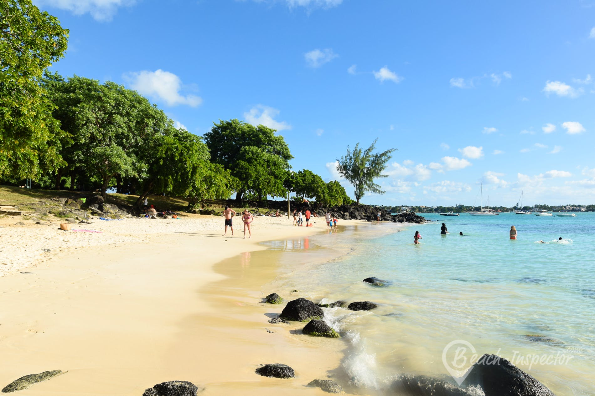 Strand La Cuvette, Mauritius,