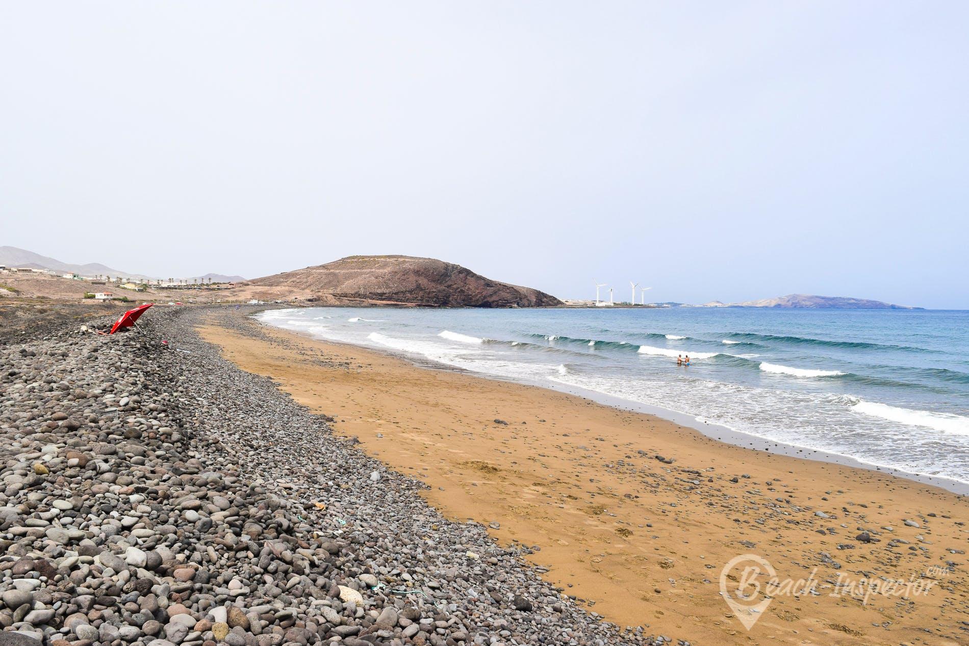 Strand Playa de Vargas, Gran Canaria, Spanien