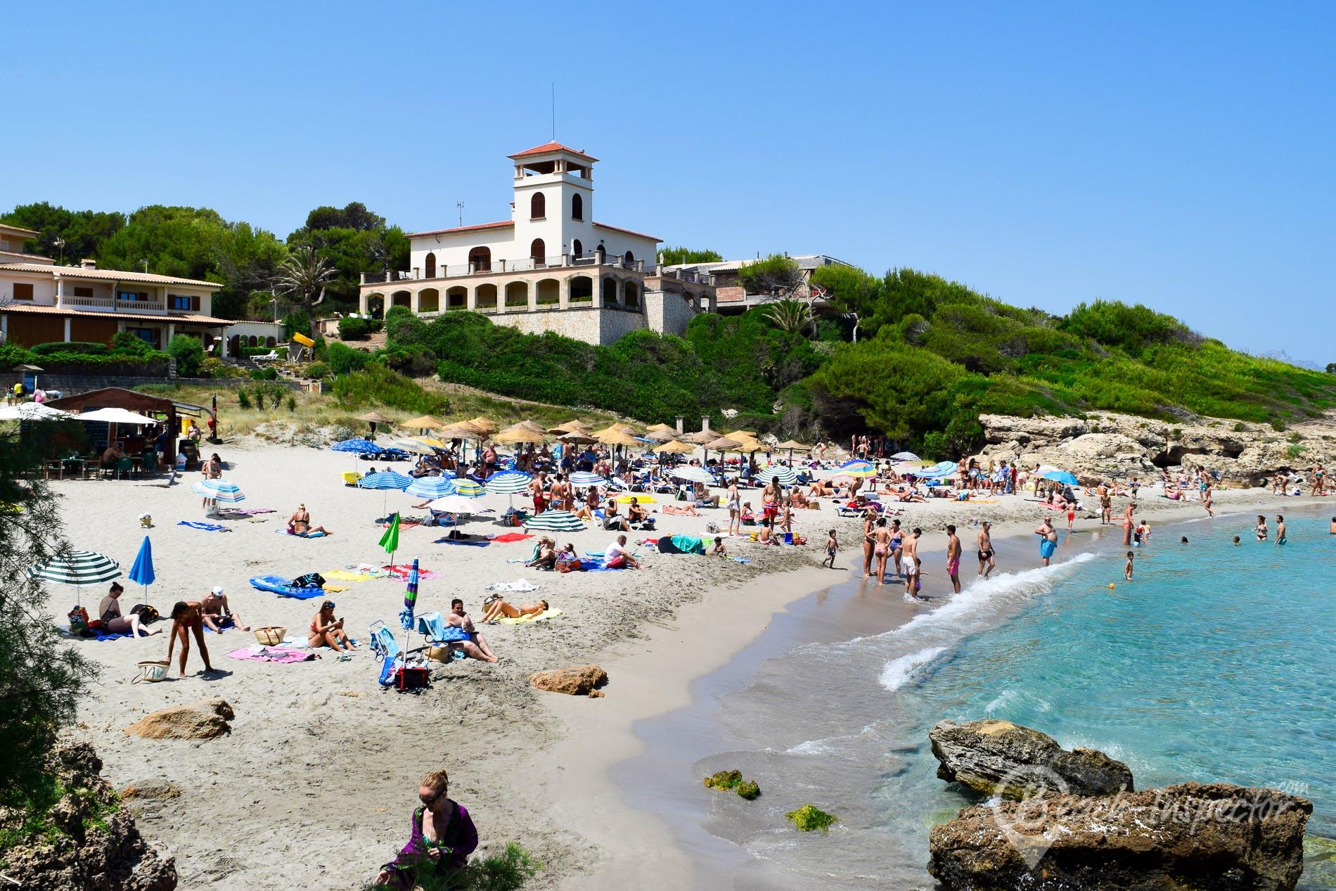 Beach Playa de Sant Pere, Majorca, Spain