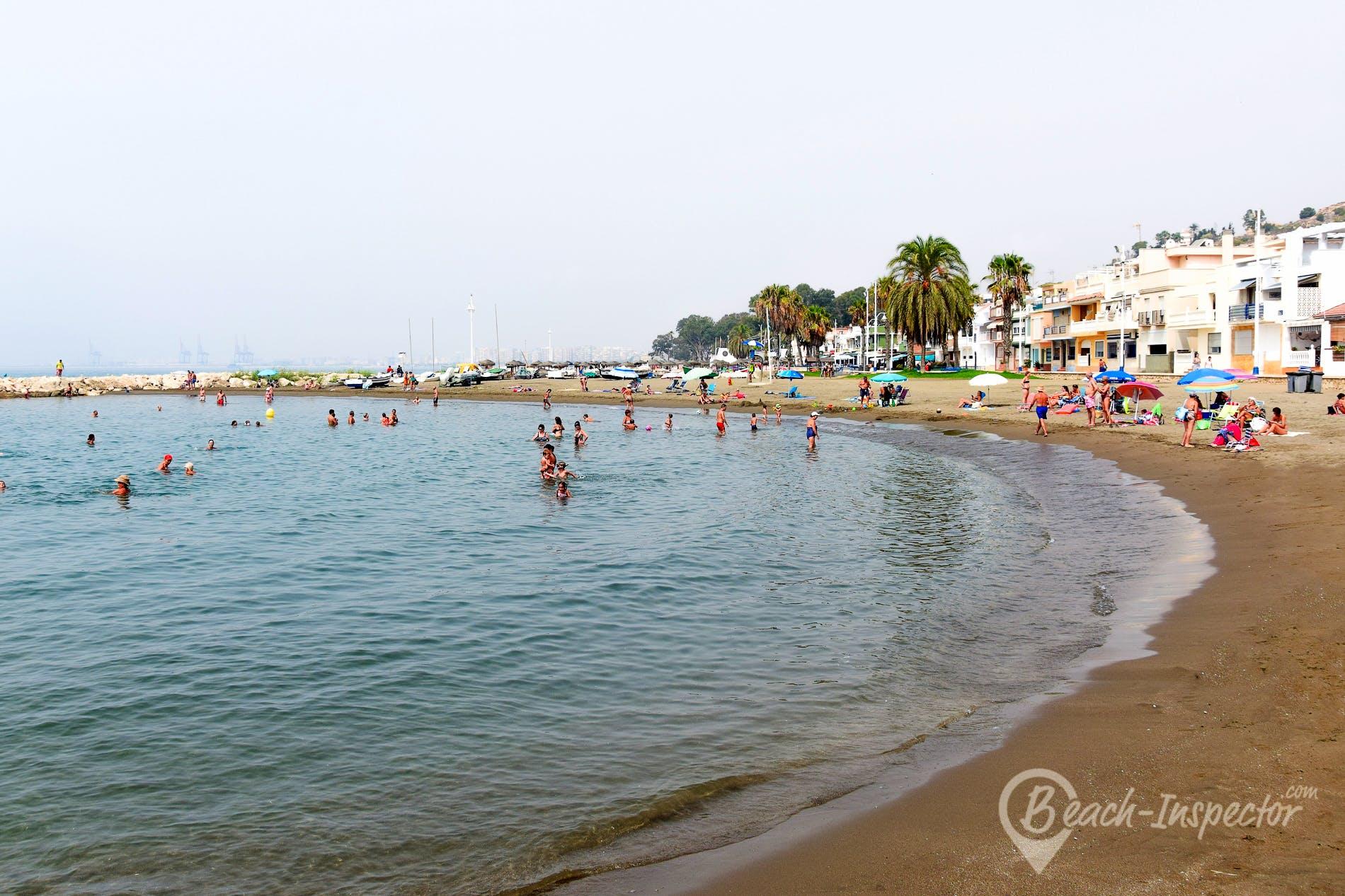 Playa Playa de Pedregalejo, Costa del Sol, España