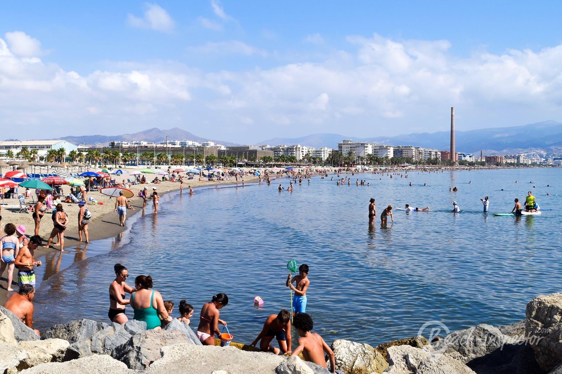 Playa Playa de la Misericordia, Costa del Sol, España