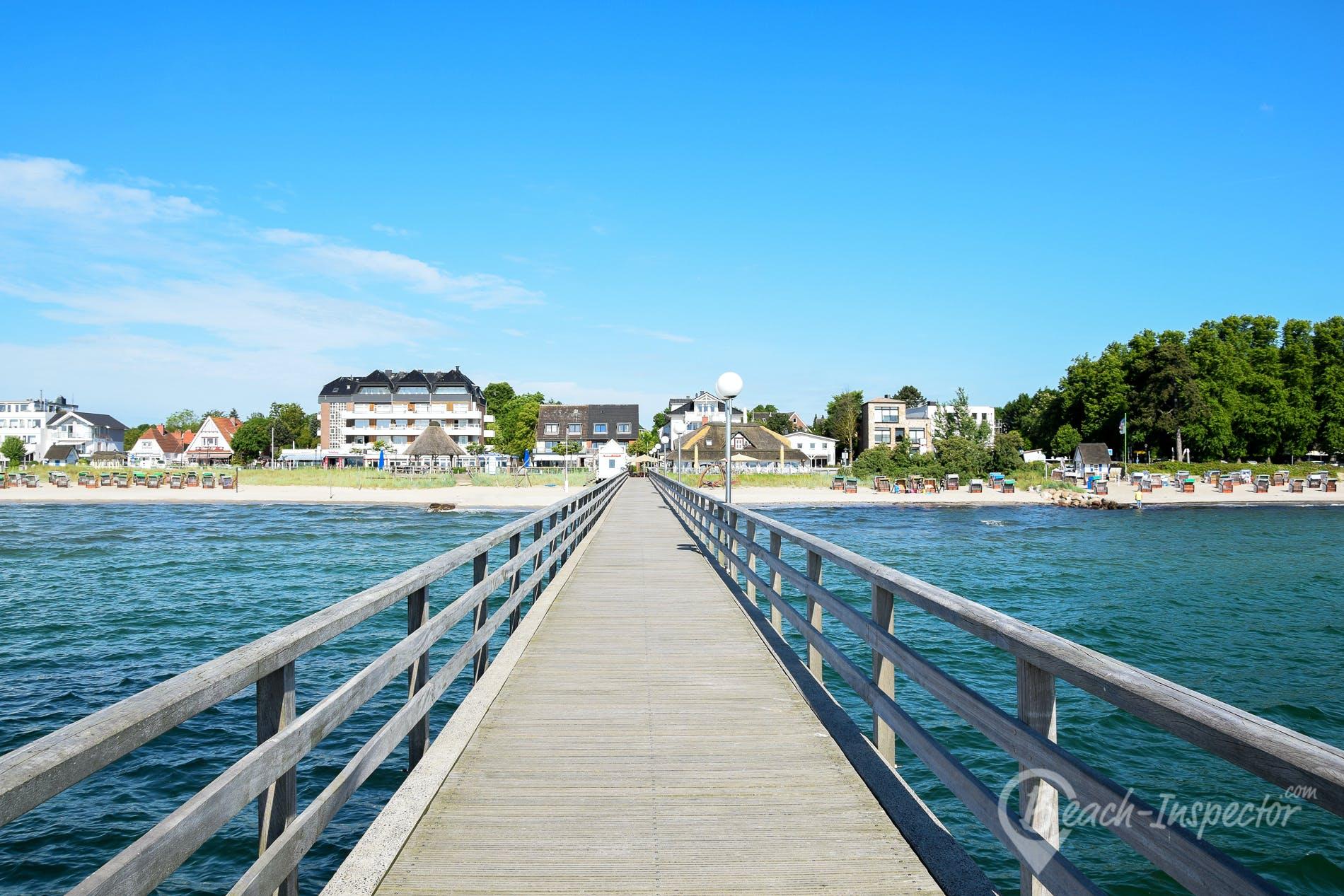 Strand Strand Haffkrug, Lübecker Bucht, Deutschland