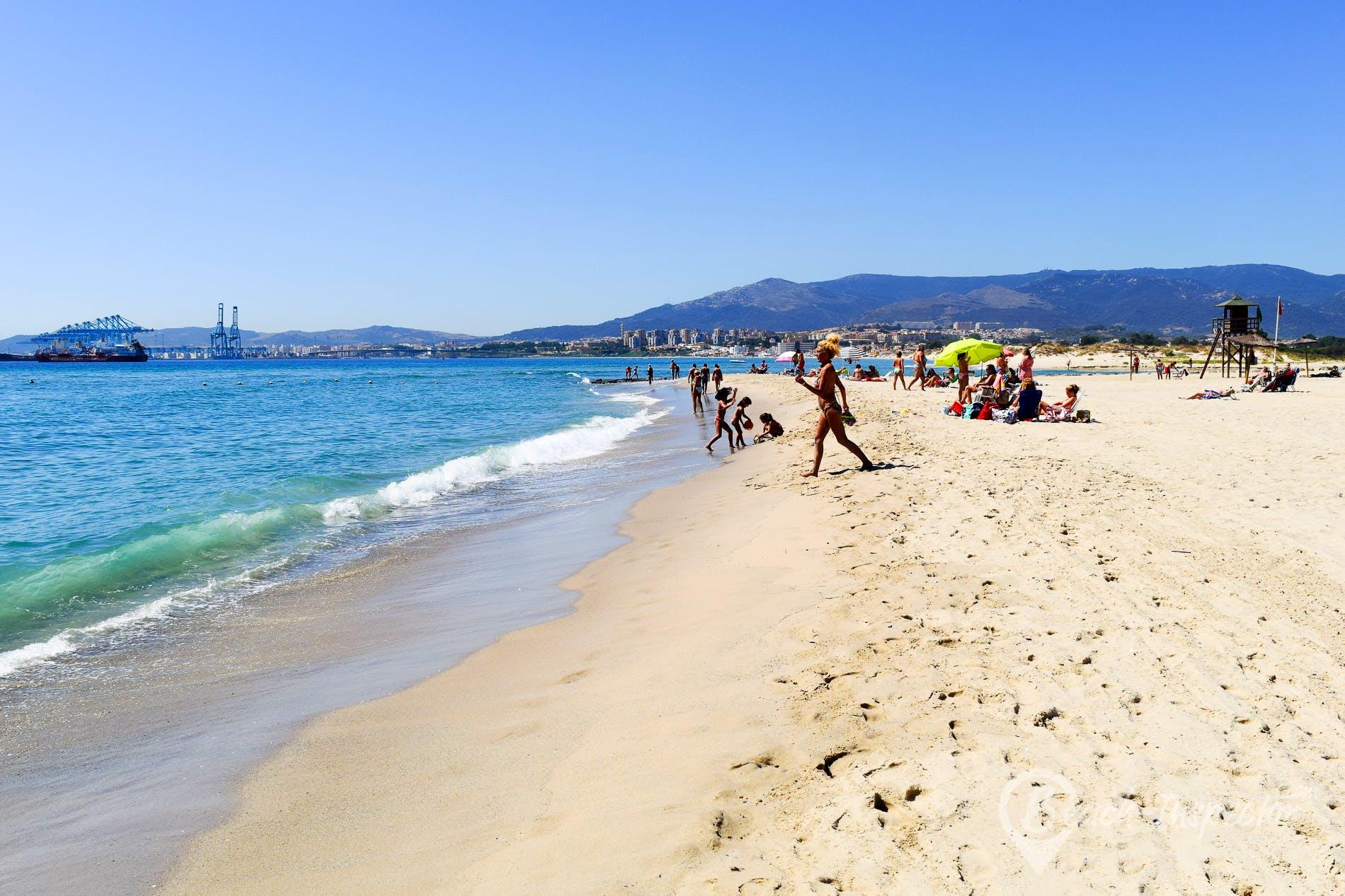 Playa Playa de Palmones, Costa de la Luz, España