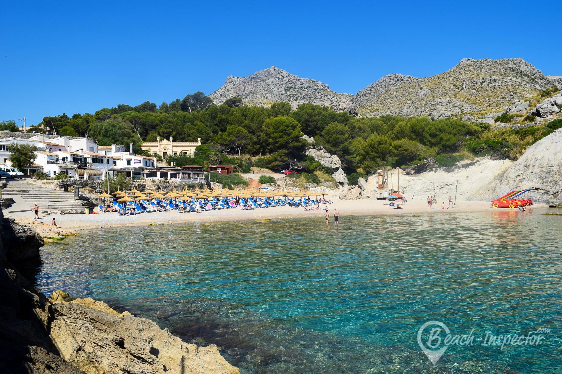 Beach Cala Barques, Majorca, Spain