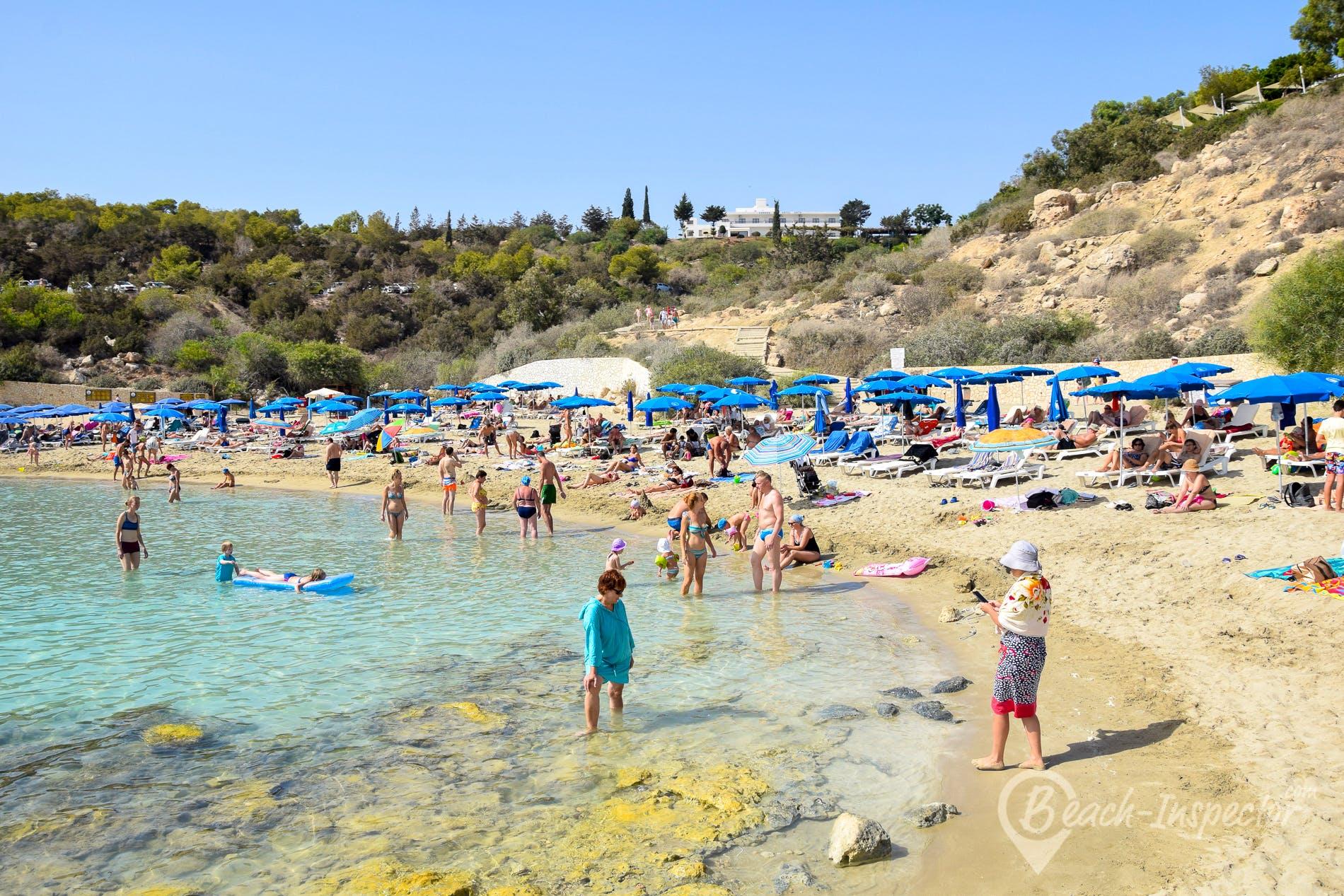 Strand Konnos Beach, Zypern, Zypern