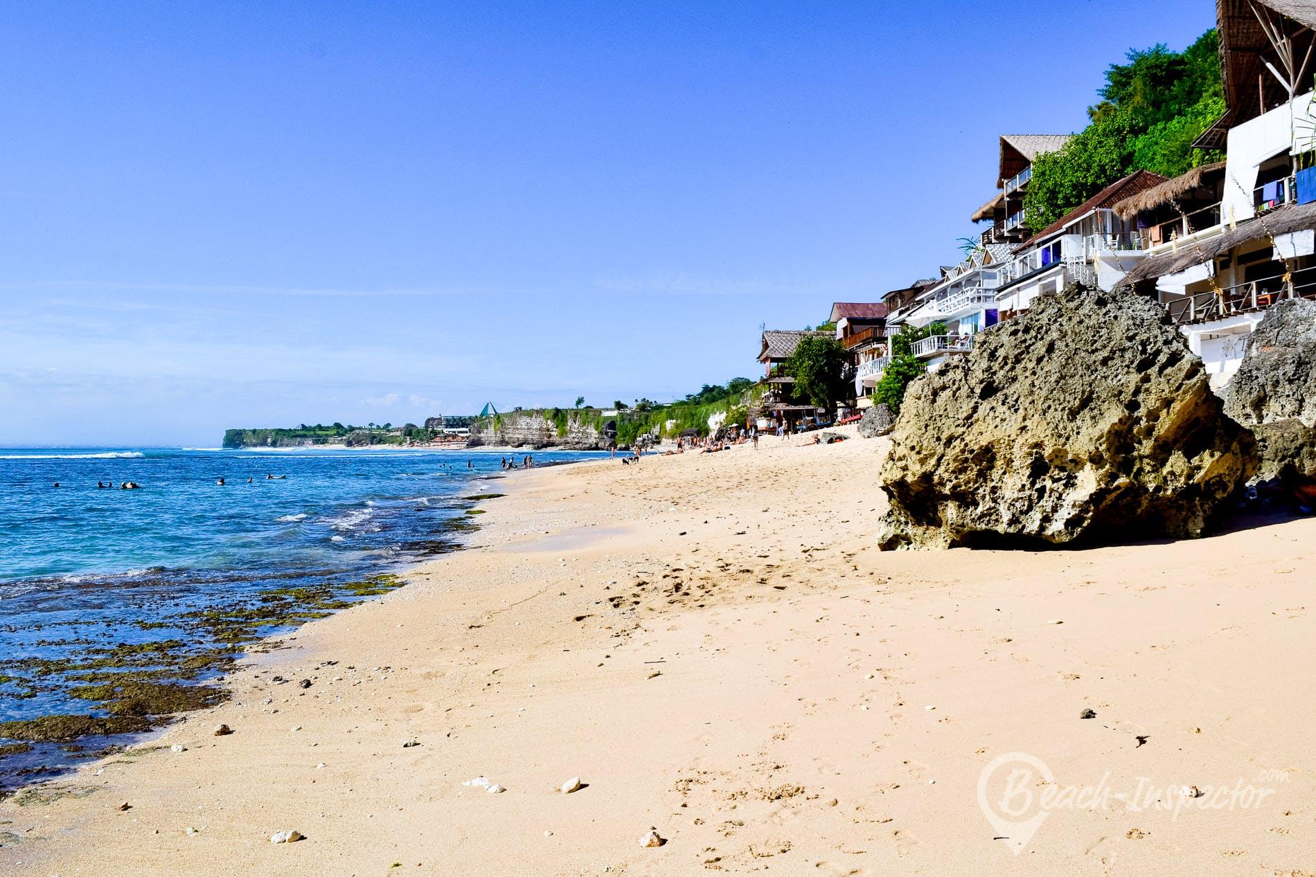 Strand Bingin Beach, Bali, Indonesien
