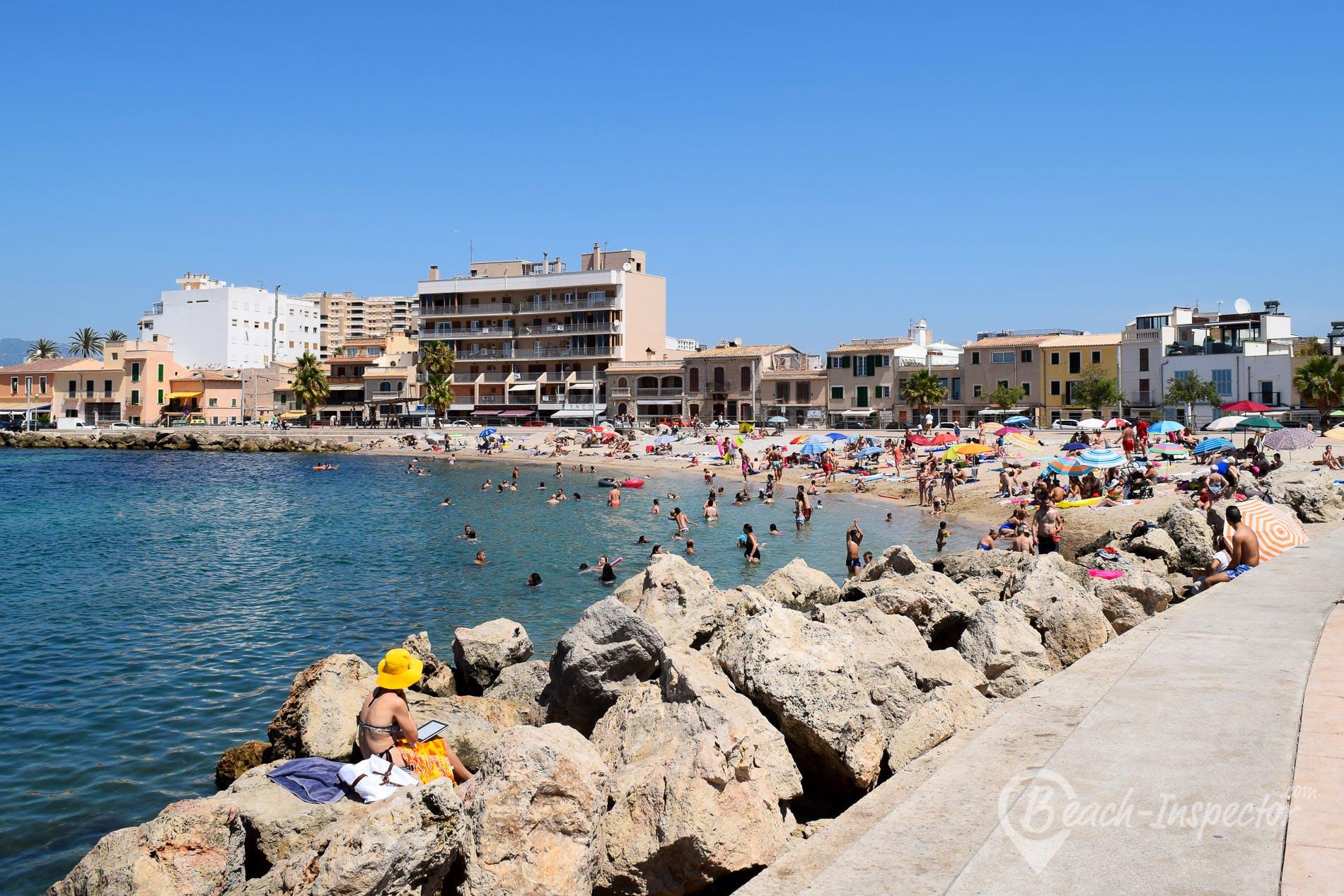 Beach Cala Portixol, Majorca, Spain