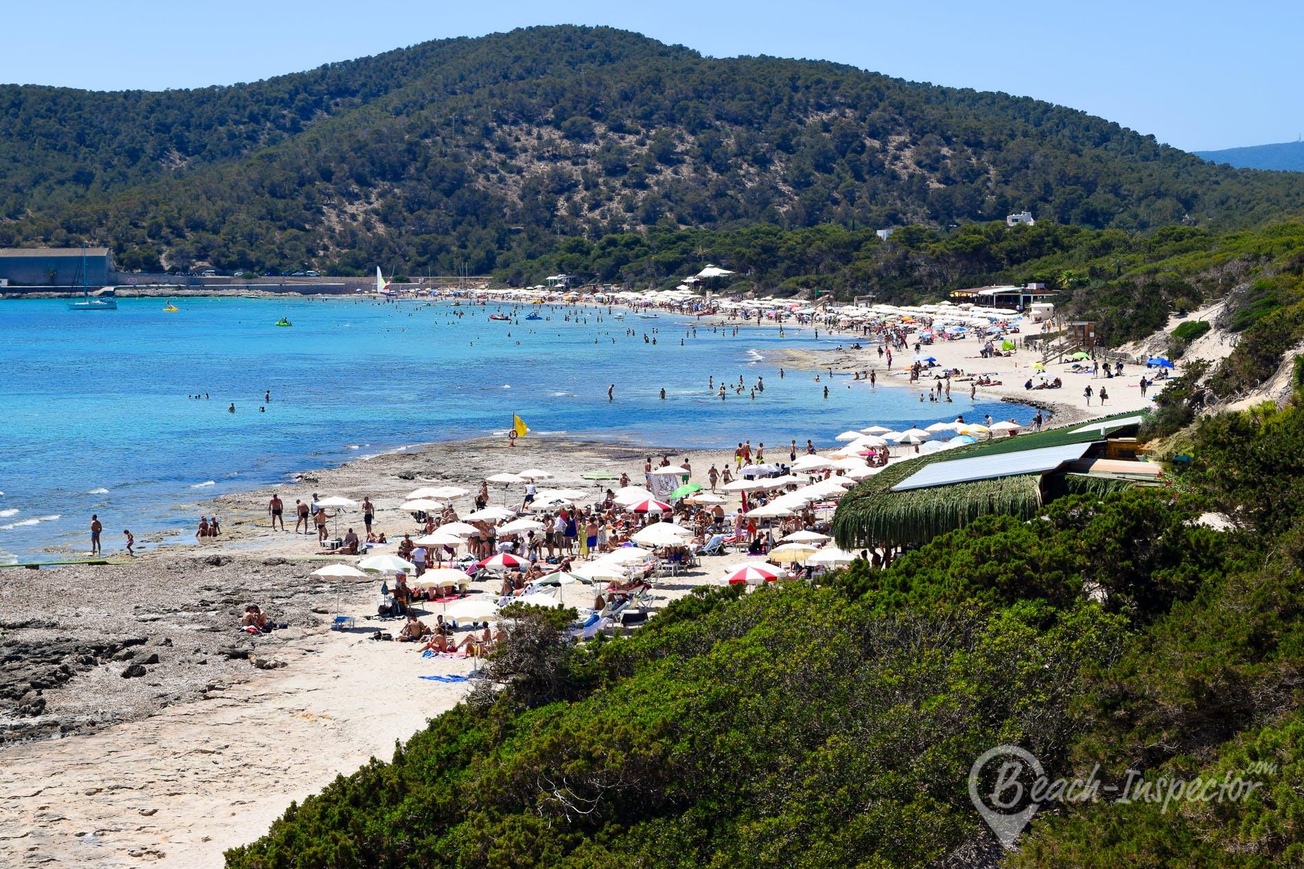 Strand Ses Salines, Ibiza, Spanien