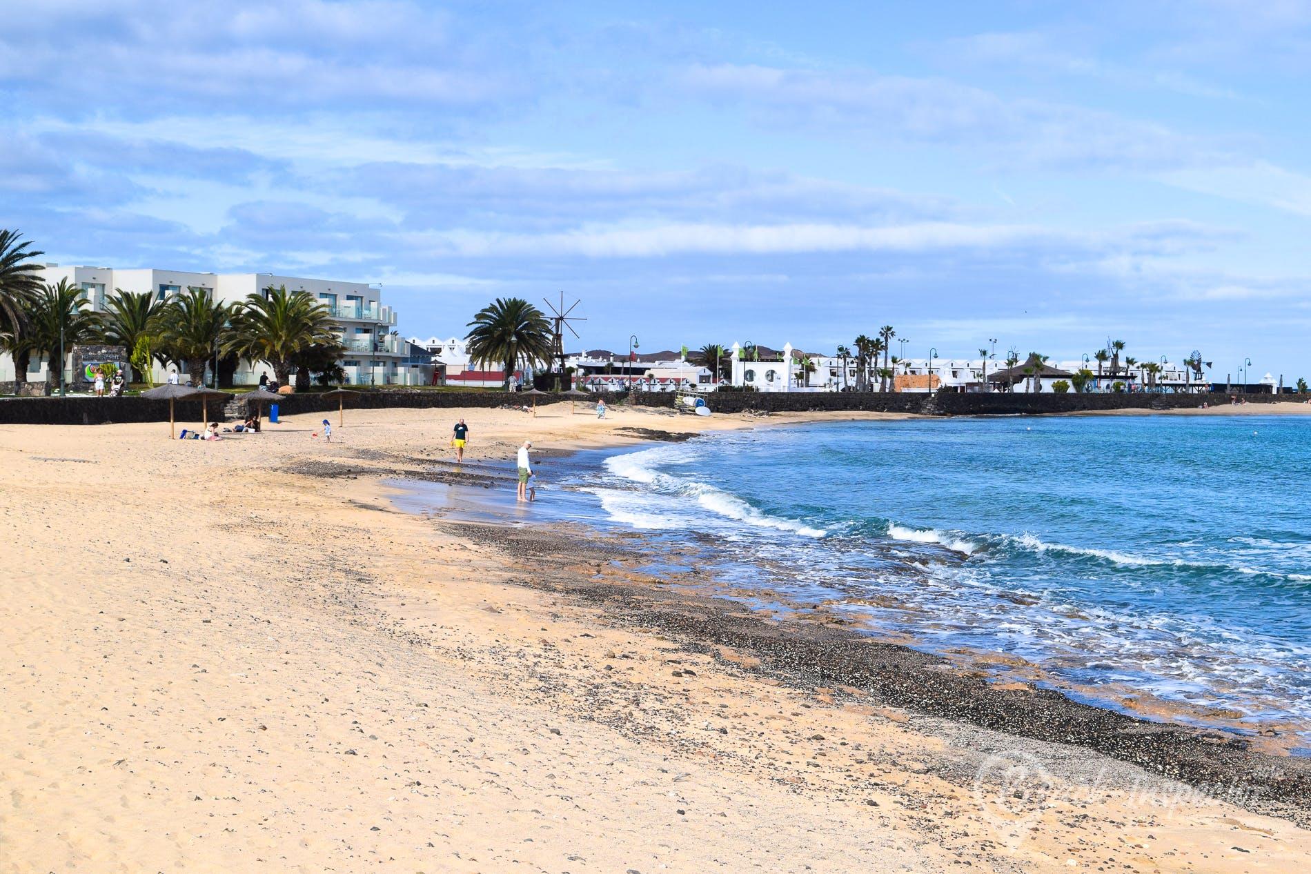Playa Playa Los Charcos, Lanzarote, España