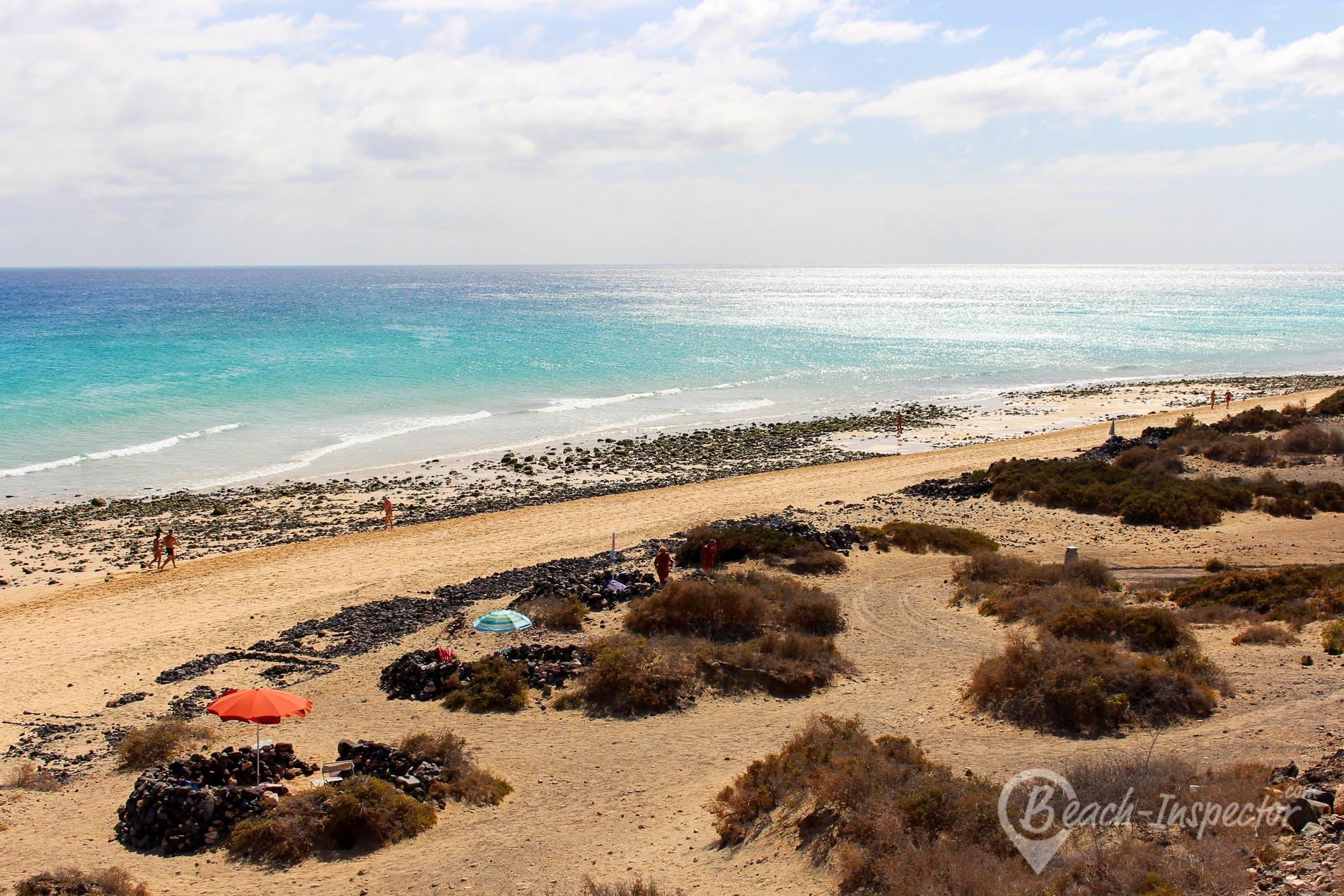 Beach El Salmo, Fuerteventura, Spain