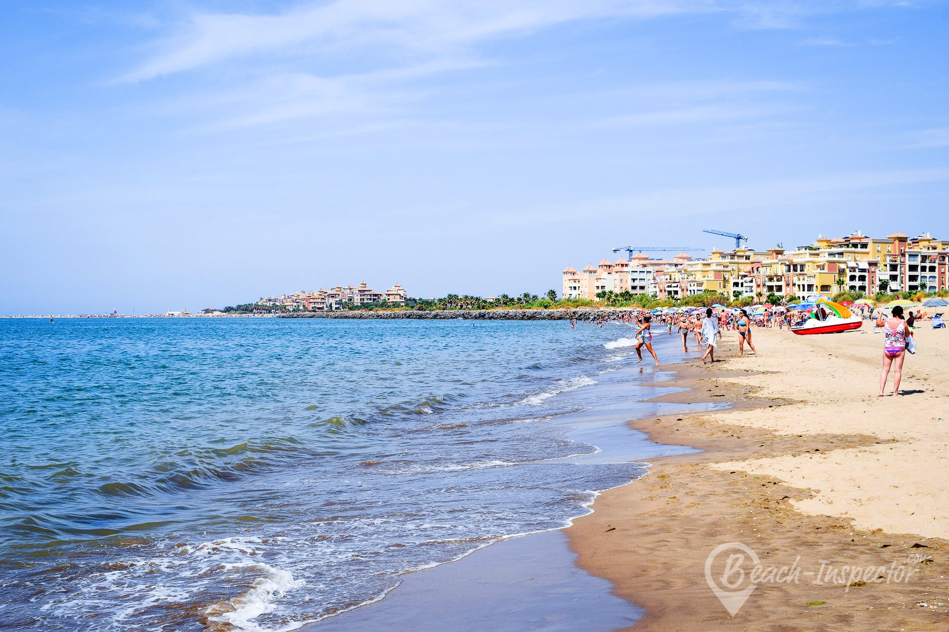 Playa Playa de Punta del Moral, Costa de la Luz, España