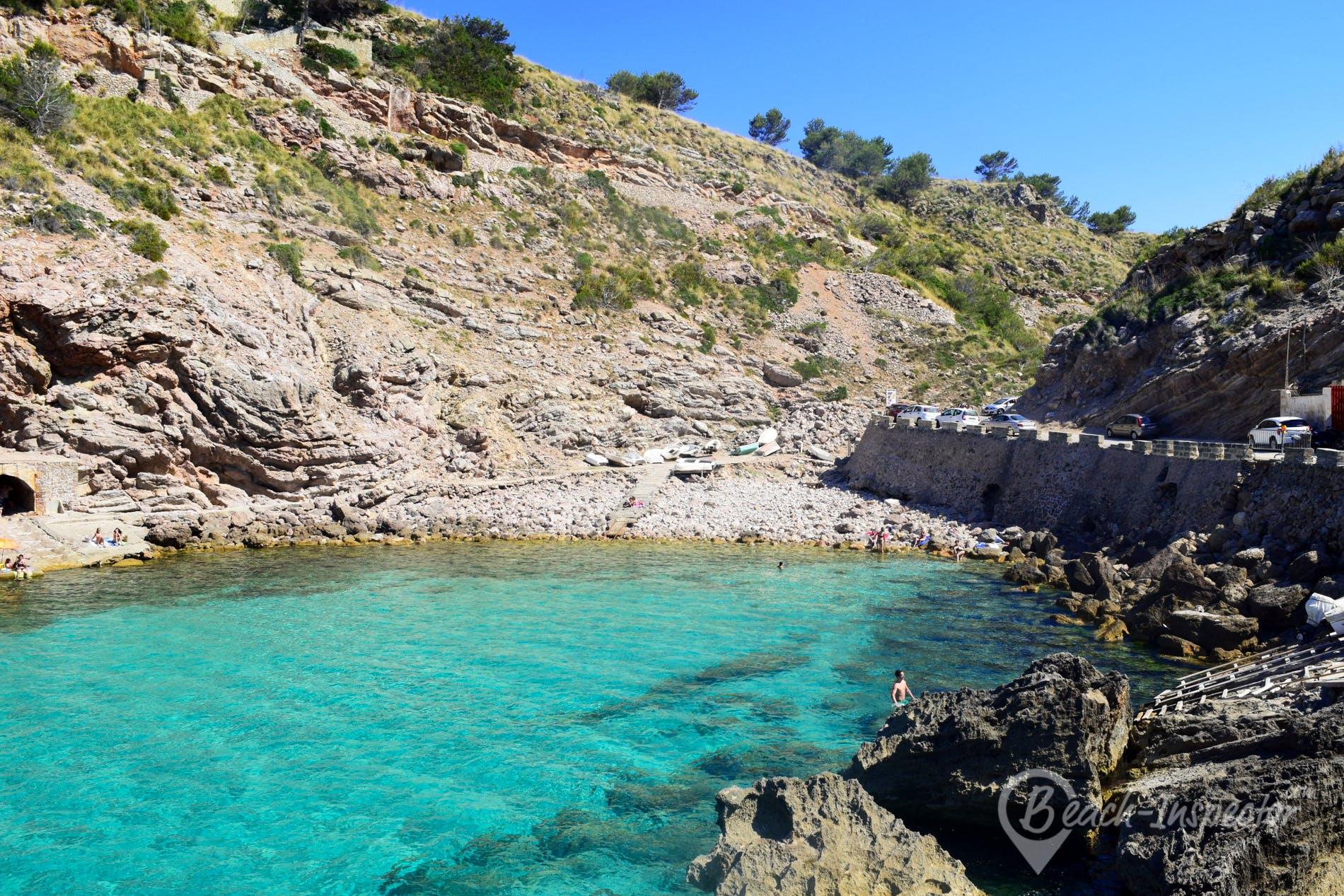 Beach Cala Carbó, Majorca, Spain