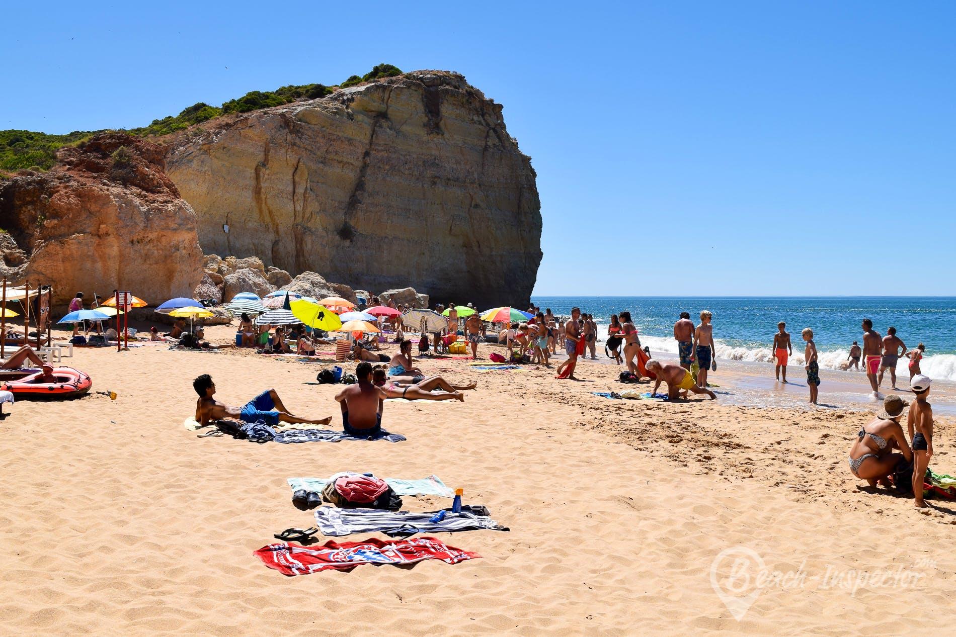 Beach Praia dos Caneiros, Algarve, Portugal