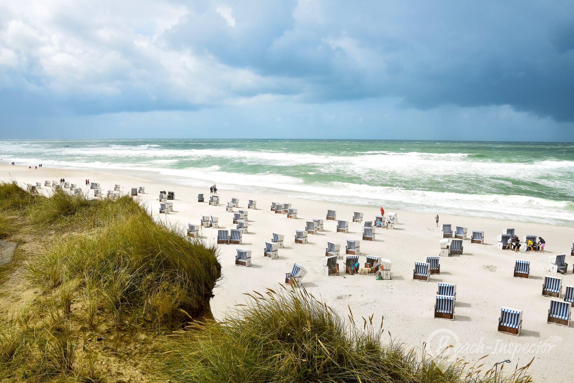 Playa Kampener Hauptstrand, Sylt, Alemania