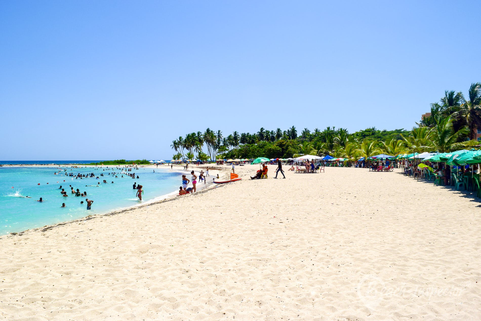 Strand Playa Juan Dolio, Dominikanische Republik, Dominikanische Republik