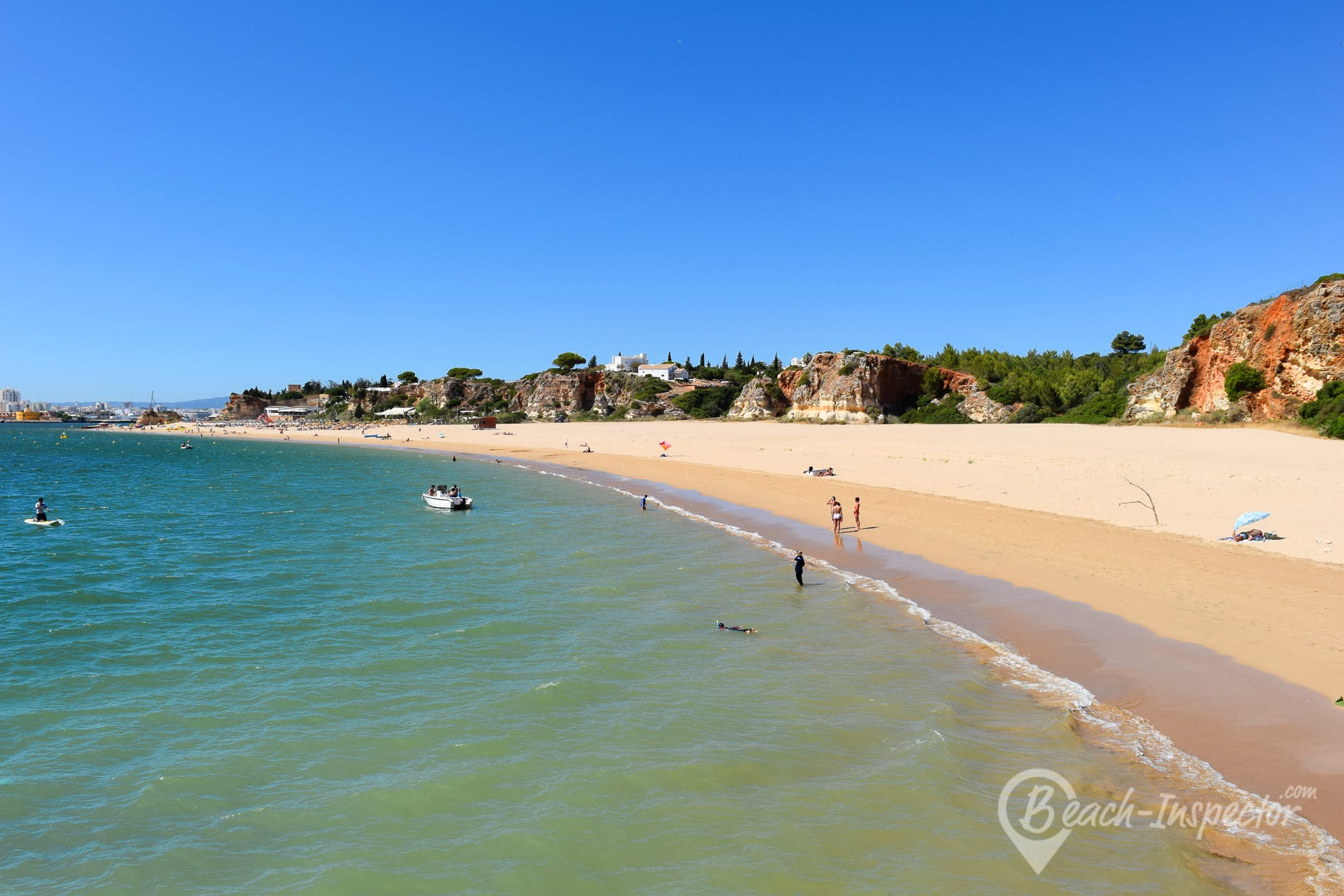 Playa Praia Grande, Algarve, Portugal