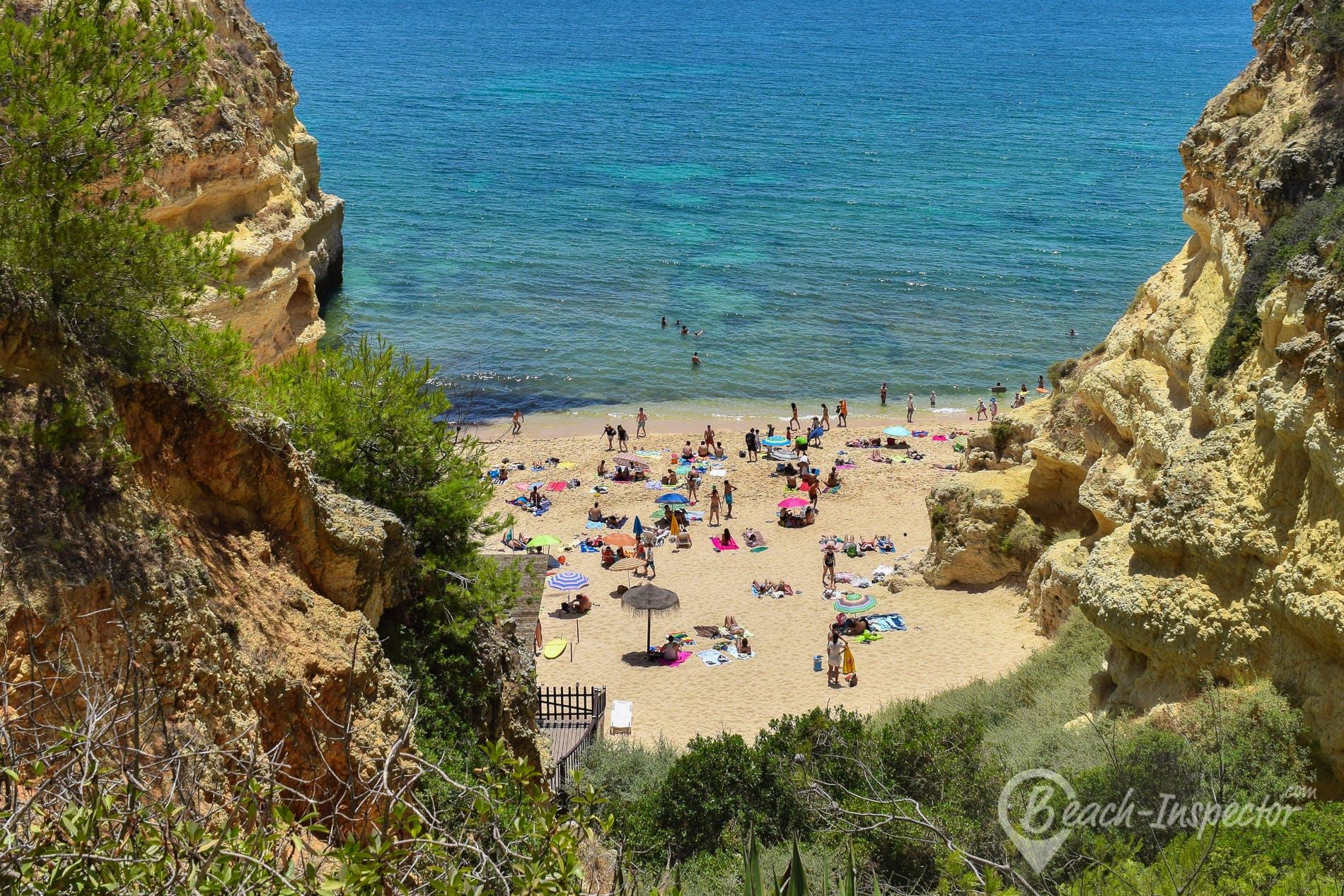 Beach Praia Marinha, Algarve, Portugal