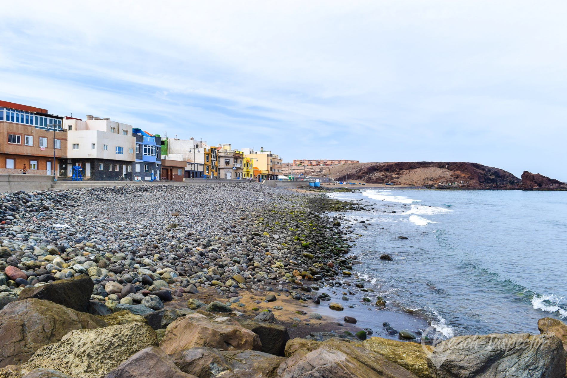 Strand Playa del Burrero, Gran Canaria, Spanien
