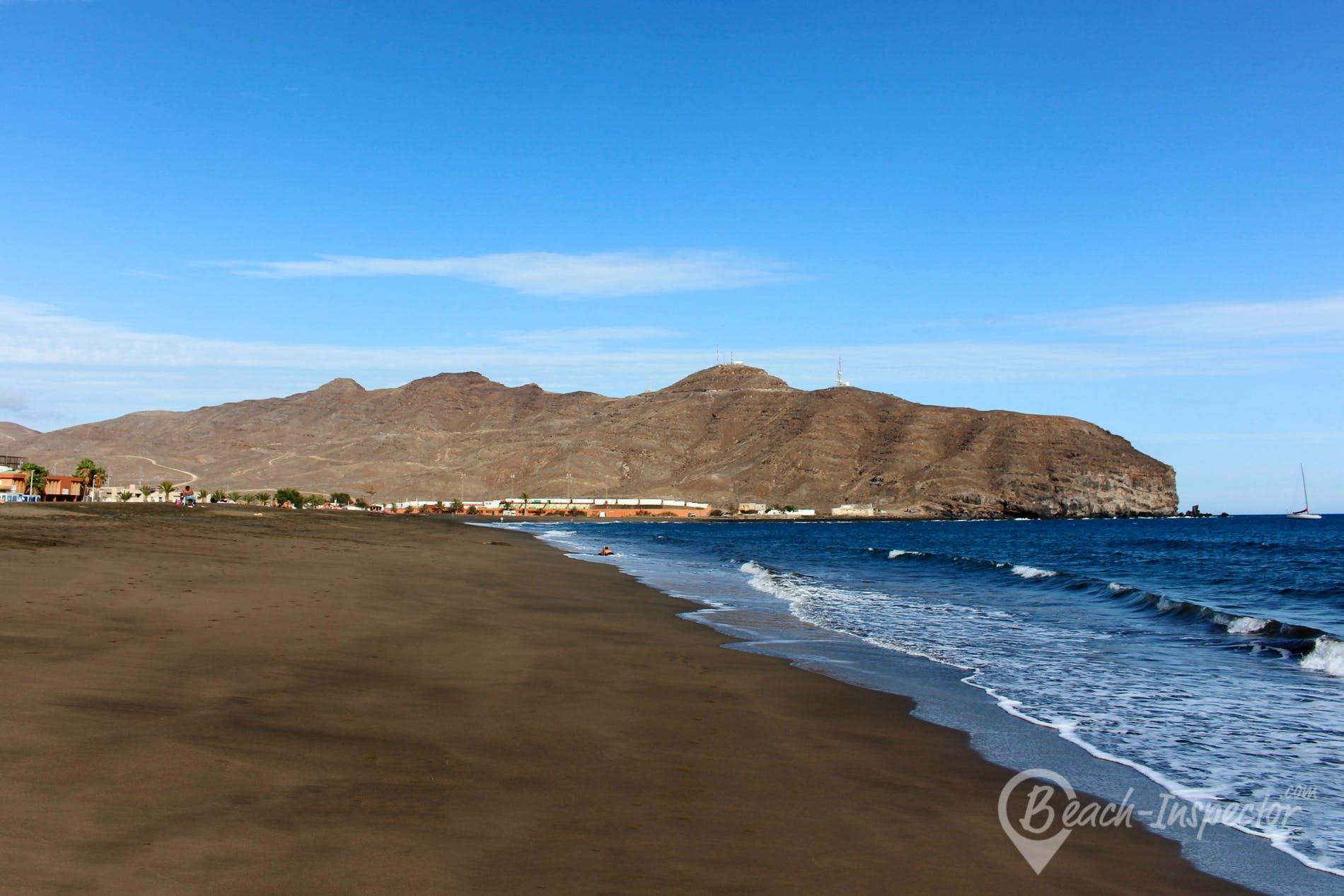 Strand Playa de Gran Tarajal, Fuerteventura, Spanien