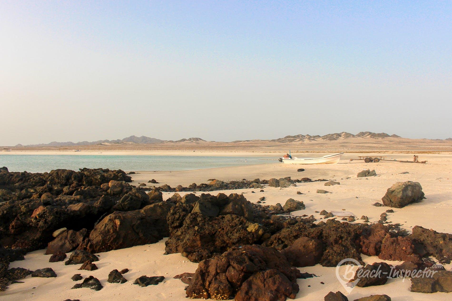 Playa Ras Abu Zabil Beach, Omán, Omán