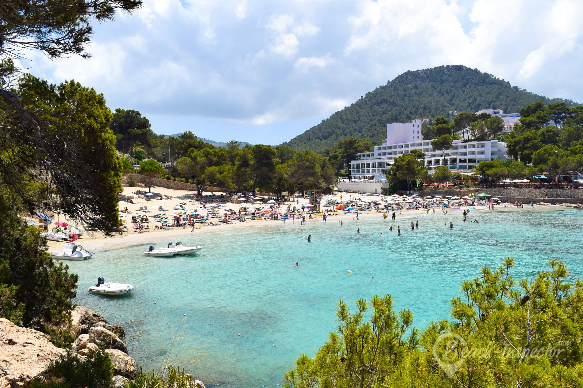 Playa s'Arenal Gran, Ibiza, España