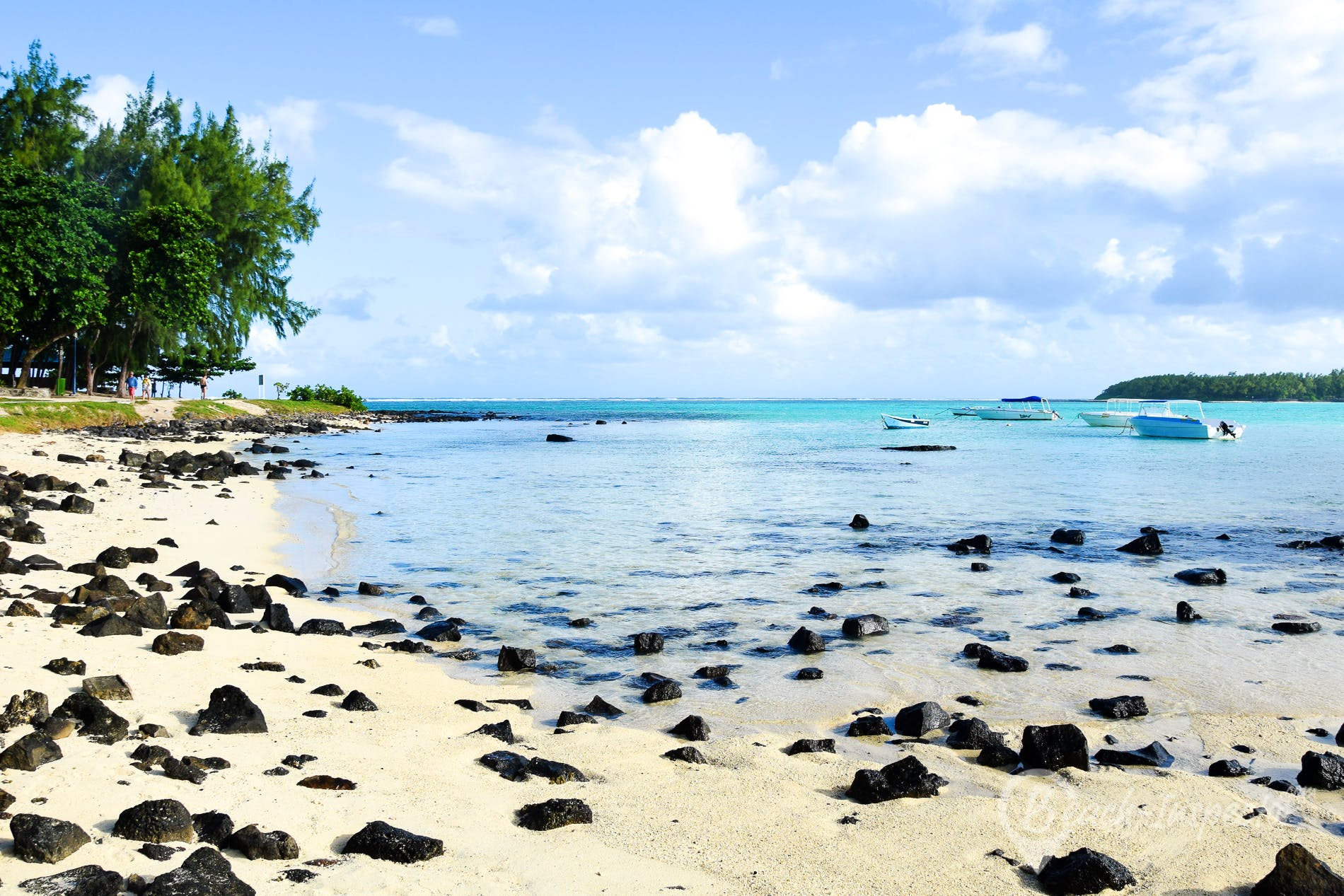 Strand Blue Bay, Mauritius,