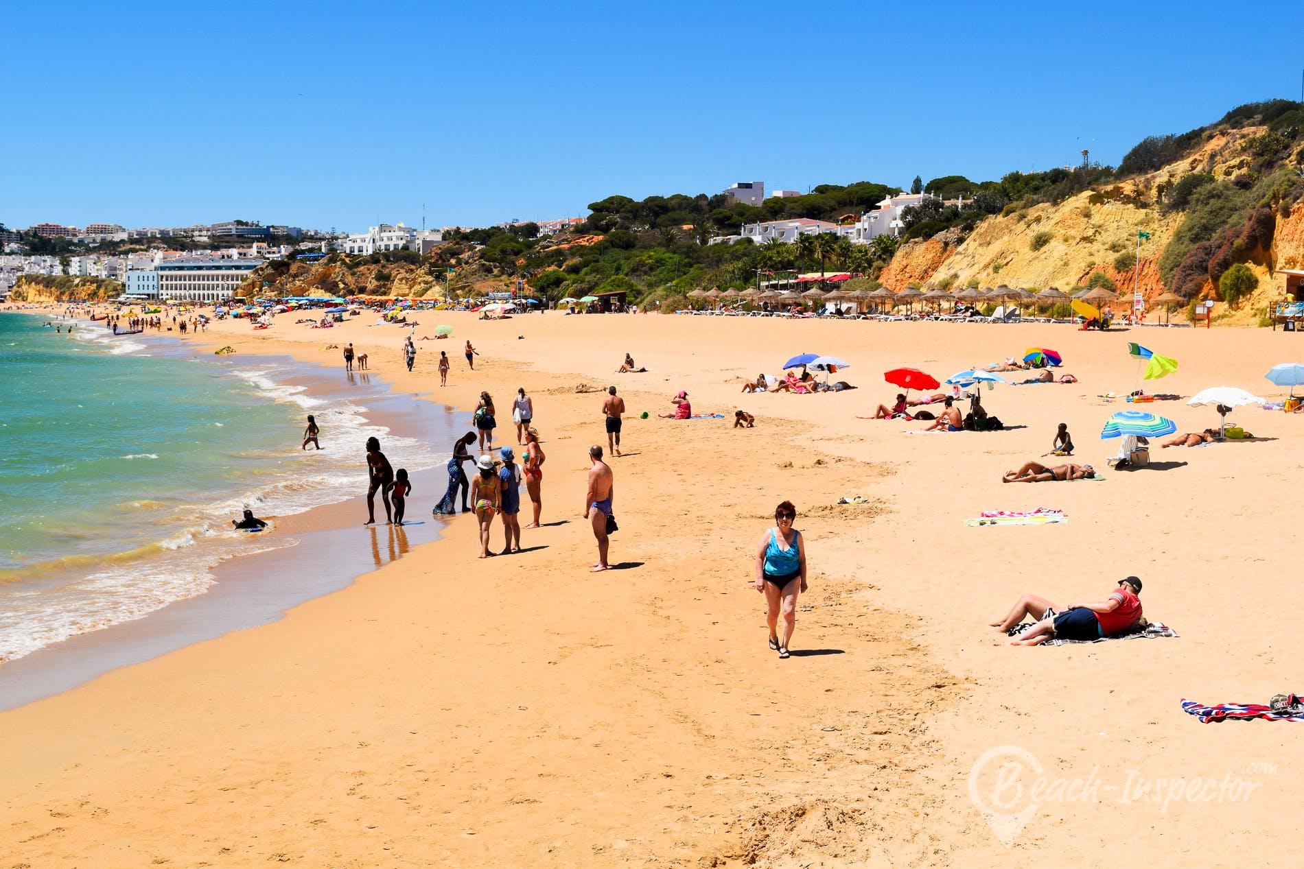 Beach Praia dos Alemães, Algarve, Portugal