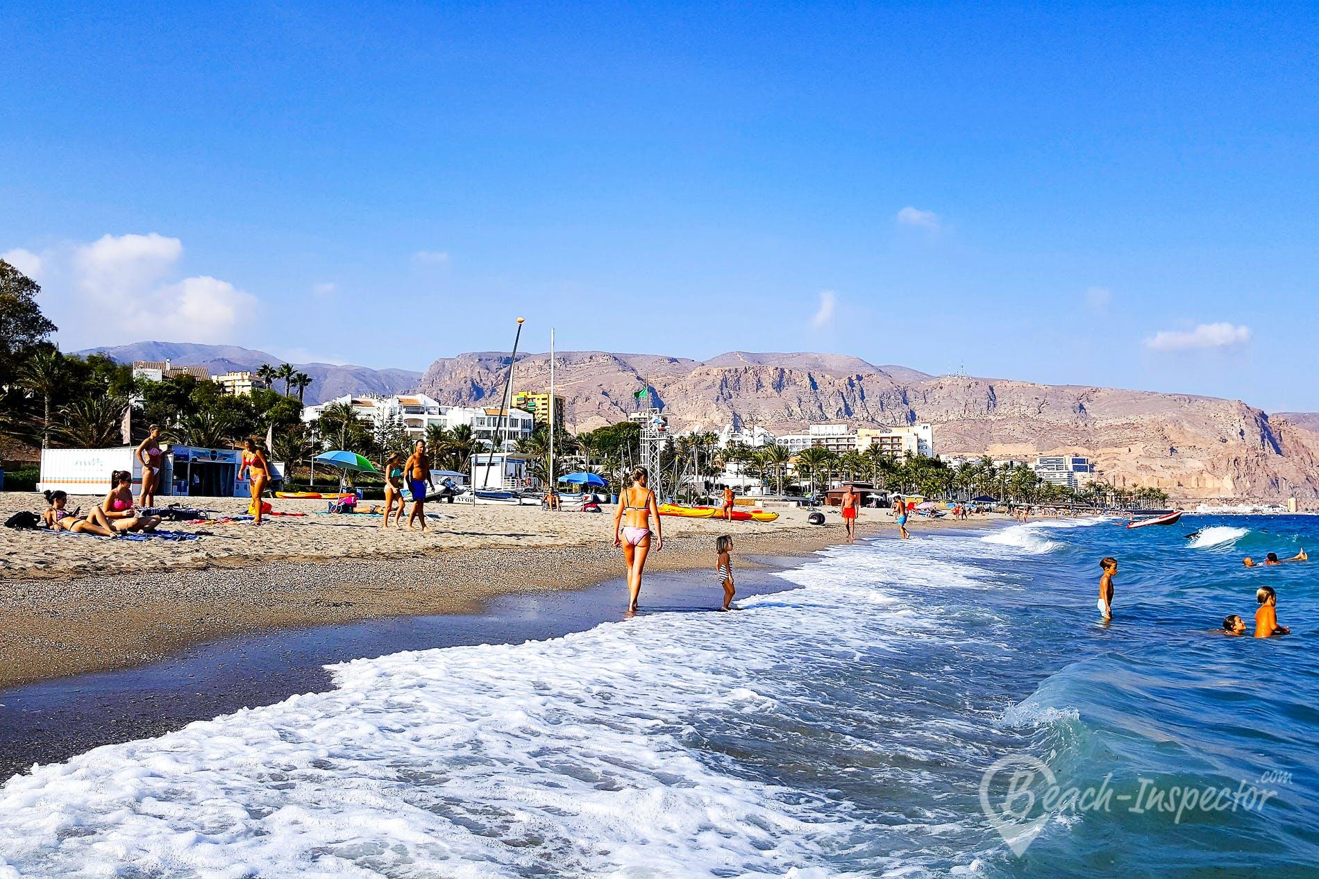 Strand Playa Villa Africa, Costa de Almería, Spanien