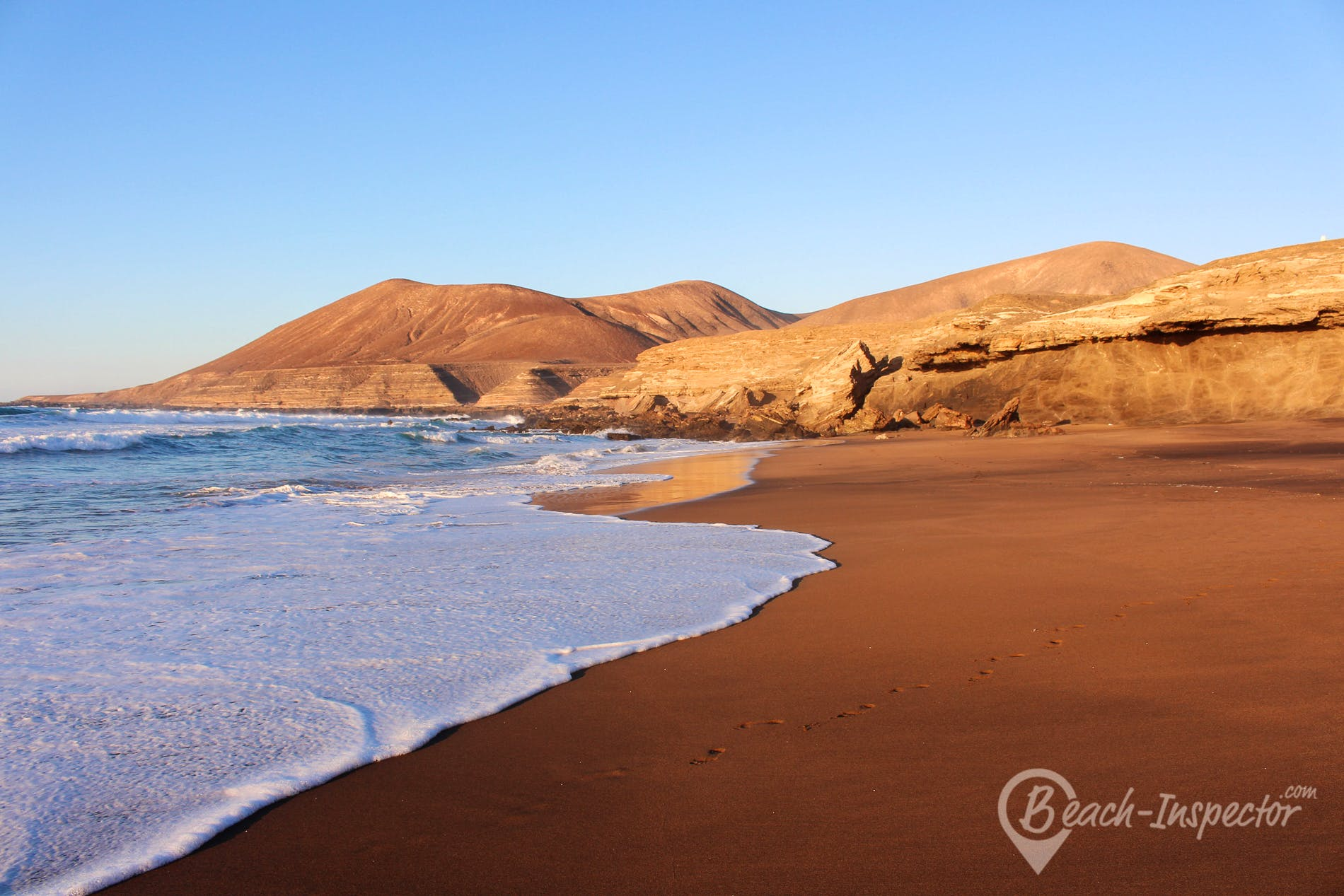 Playa Playa la Solapa, Fuerteventura, España