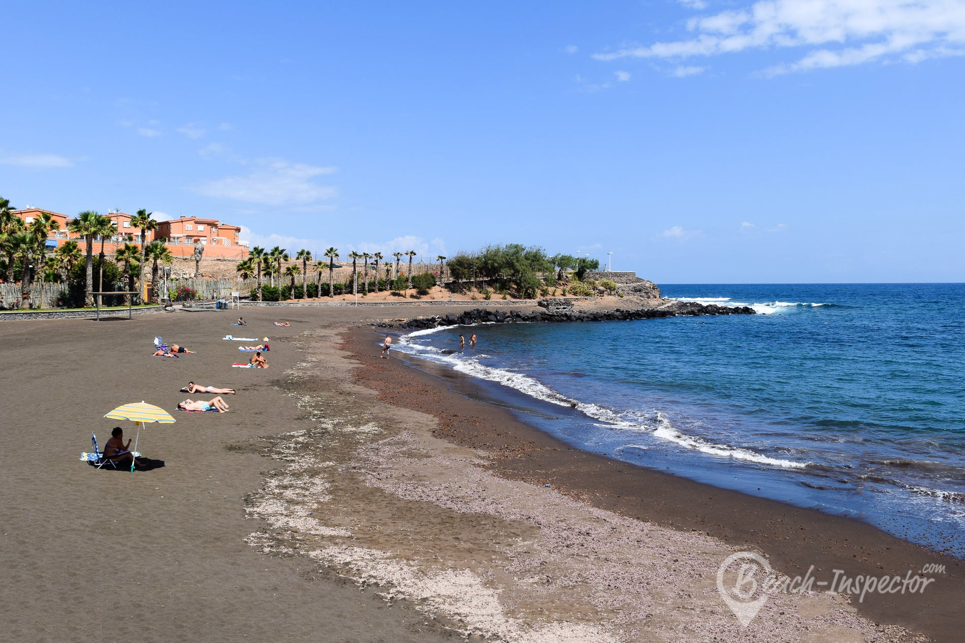 Beach Playa Hoya del Pozo, Gran Canaria, Spain