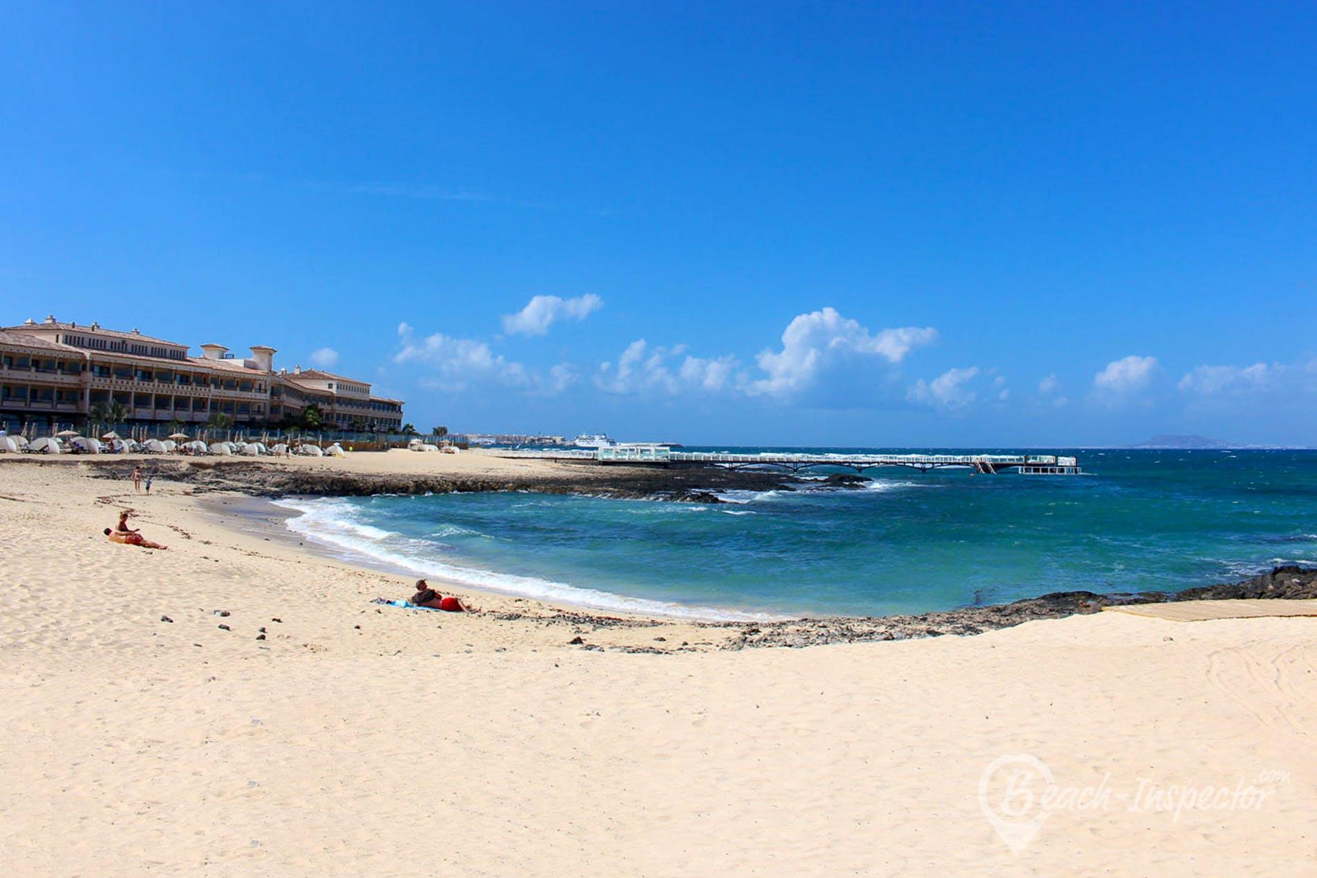 Strand Playa Real, Fuerteventura, Spanien