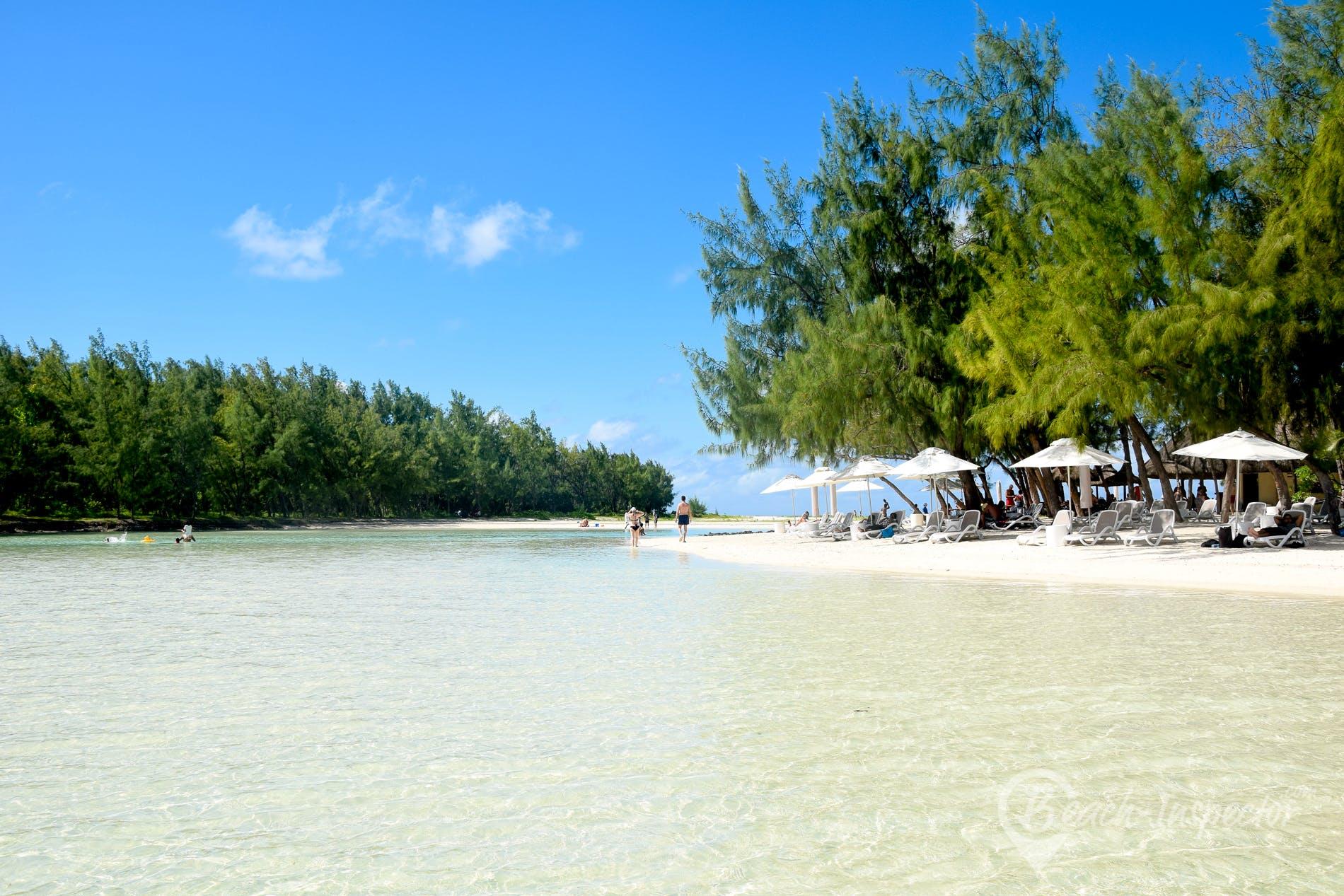 Beach Ile aux Cerfs, Mauritius,