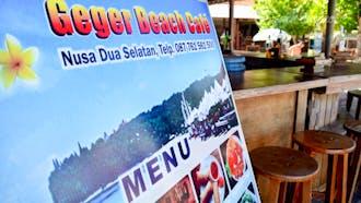 Geger Beach Cafe