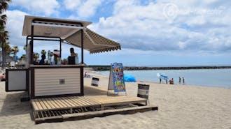 Strandkiosk am Playa del Camisón