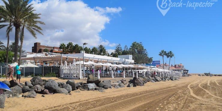 Playa de maspalomas gran canaria fotos videos y consejos internos - Tumbonas gran canaria ...