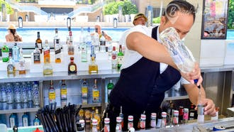 Mulia Beach Bar
