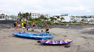 Kayak and Walk in Lanzarote